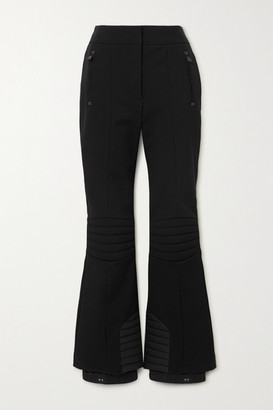 MONCLER GRENOBLE Sportivo Stretch-twill Bootcut Ski Pants - Black