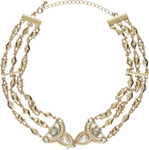 Accessorize Embellished Clasp Choker Necklace