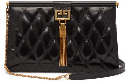 Givenchy Gem Medium Quilted Leather Bag - Womens - Black