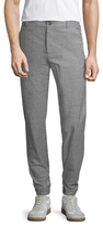 James Perse Stretch Textured Jersey Trousers