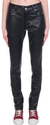 Drkshdw Tyrone Cut Jeans In Black Polyester
