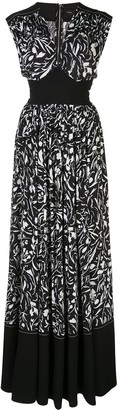Proenza Schouler Floral Maxi Dress