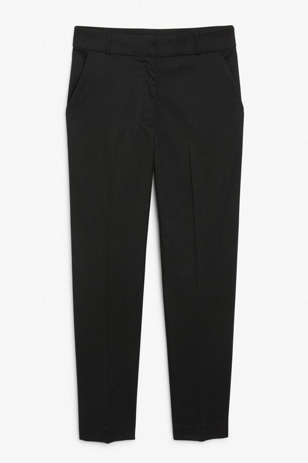 Thumbnail for your product : Monki Tapered leg trousers