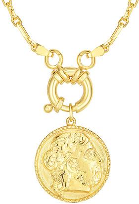 Sphera Milano 18K Over Silver Necklace