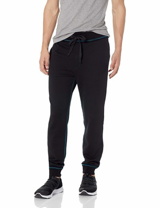 True Religion Men's Stained Glass Logo Sweatpant