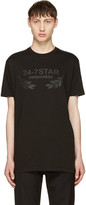 DSQUARED2 Black 24-7 Star Logo T-shirt