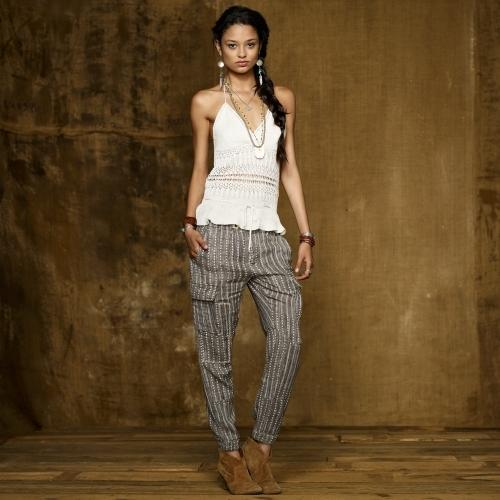 Denim & Supply Ralph Lauren Cotton-Linen Knit Camisole