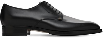 Gucci 30mm Gg Dtl Leather Lace-up Shoes
