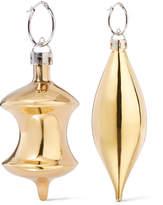 Balenciaga December Gold-tone Earrings - one size