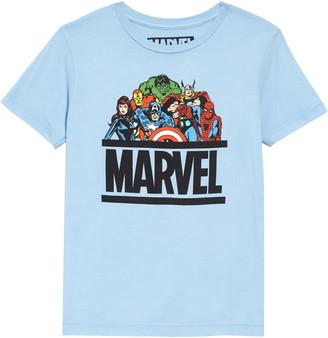 JEM Marvel All Stars Graphic Tee