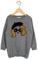 Gucci Girls' Embroidered Pullover Sweatshirt