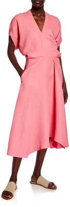 Zero Maria Cornejo Aki Wave-Front Lightweight Dress