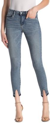 Blank NYC Distressed Hem Skinny Jeans