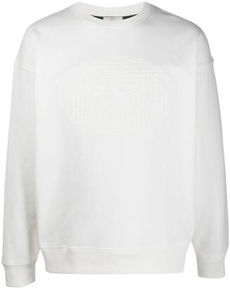 Lacoste Embossed-Logo Sweatshirt