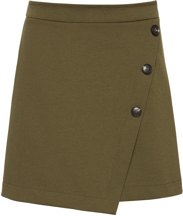 Womens Maxi Skirt High Waist Leg Slit Split Long Skirt Side Open Size 8-12 1075
