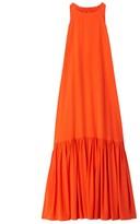 Tibi Crepe de Chine Maxi Dress
