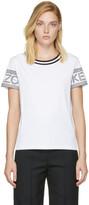 Kenzo - T-shirt à logo blanc