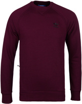 Adidas Originals Burgundy Pt Crew Neck Sweater