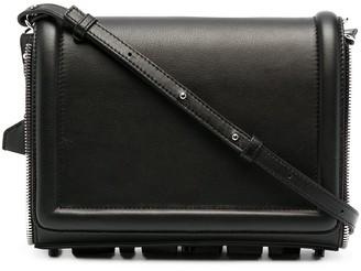 Diesel Zip-Embellished Crossbody Bag