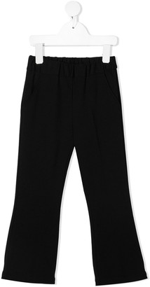 Touriste Elasticated Flared-Leg Trousers