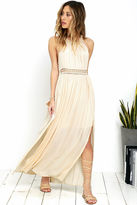 LuLu*s Resort Life Cream Lace Maxi Dress