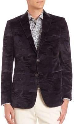 Etro Camo Printed Jacket