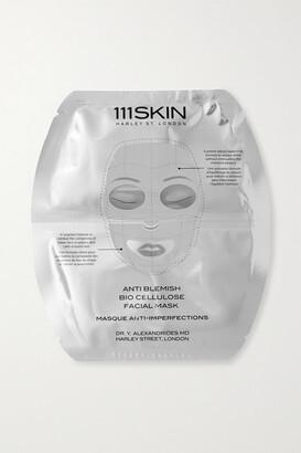 111SKIN Anti Blemish Bio Cellulose Facial Mask, 5 X 25ml