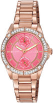 JCPenney DRIVE FROM CITIZEN ECO-DRIVE Citizen Eco-Drive Womens Crystal-Accent Bracelet Watch FD3003-58X