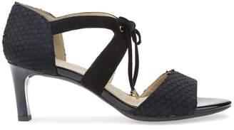 Geox D Celeina D High Heeled Leather Sandals
