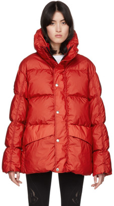 MONCLER GENIUS SSENSE Exclusive 6 Moncler 1017 ALYX 9SM Red Down Eris Jacket