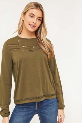 Ardene Light Sweater with Lace