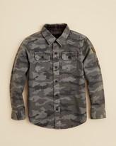 Tailor Vintage Boys' Camo Print Shirt - Sizes 4-14