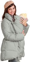 Sweet Mommy Down Feather Maternity and Mama Coat with baby wearing pouch GRL