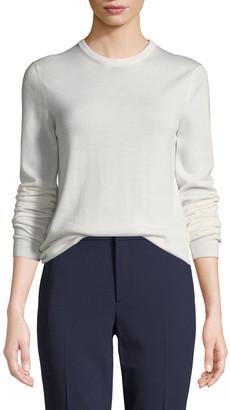 Ralph Lauren Collection Crewneck Long-Sleeve Cashmere Sweater