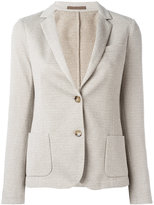 Eleventy fitted blazer jacket