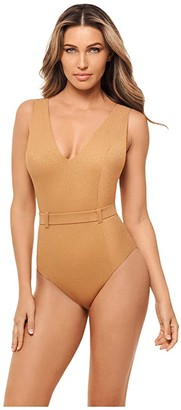 Amoressa By Miraclesuit Sanskrit Kuta (Birch) Women's Swimsuits One Piece
