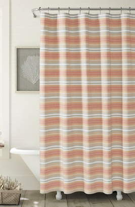 Tommy Bahama Sunrise Stripe Shower Curtain