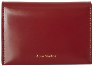 Acne Studios Card holder with flap