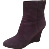 Jimmy Choo Suede wedge boots