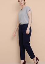 Violeta BY MANGO Cotton Suit Trousers
