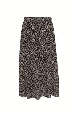 Gerard Darel Lea - Midi-length Skirt In Muslin Devore