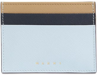 Marni Grained Leather Card Holder