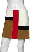 Piet Mondrian Colorblock Zipper Skirt