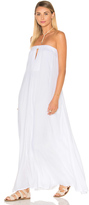 Indah Sail Strapless Maxi Dress