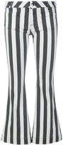 The Seafarer striped flared jeans