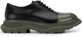 Alexander McQueen chunky Oxford shoes
