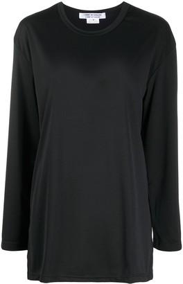 Comme des Garçons Comme des Garçons loose-fit long-sleeved T-shirt