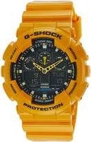 Casio Men's G-Shock GA100A-9A Resin Quartz Watch