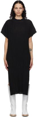 RUS Black Merino Higasa Dress
