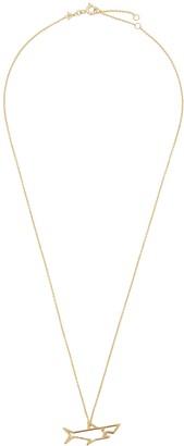 ALIITA Tiburon Brillante 9kt gold necklace